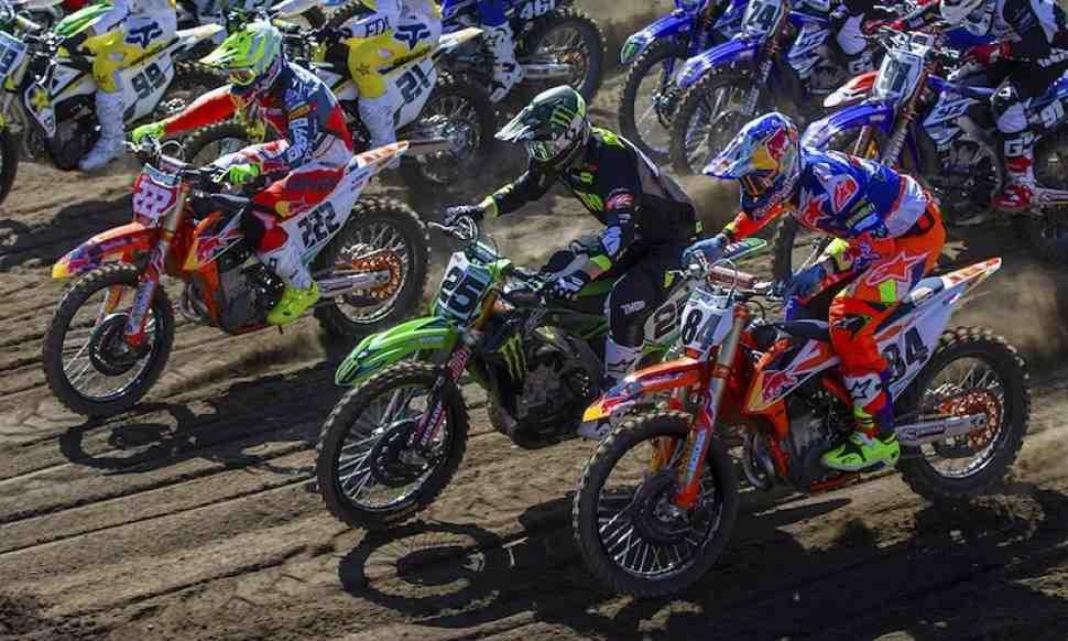 Мотокросс MXGP/MX2: хронометраж Гран-При Европы 2018