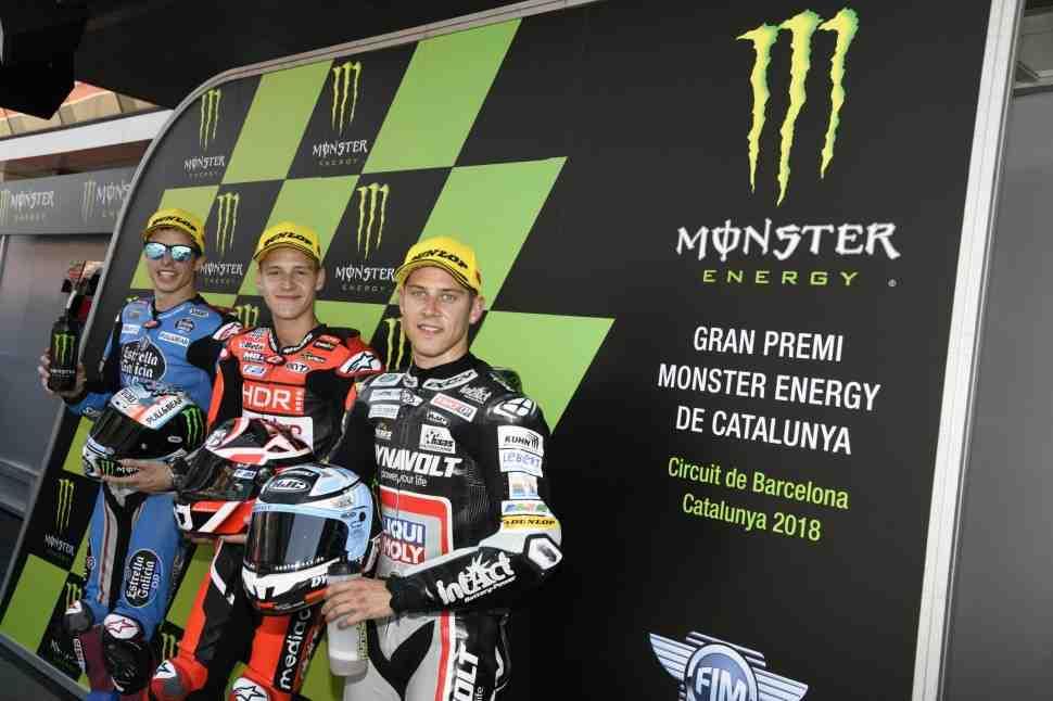 Moto2: Результаты квалификации Гран-При Каталонии