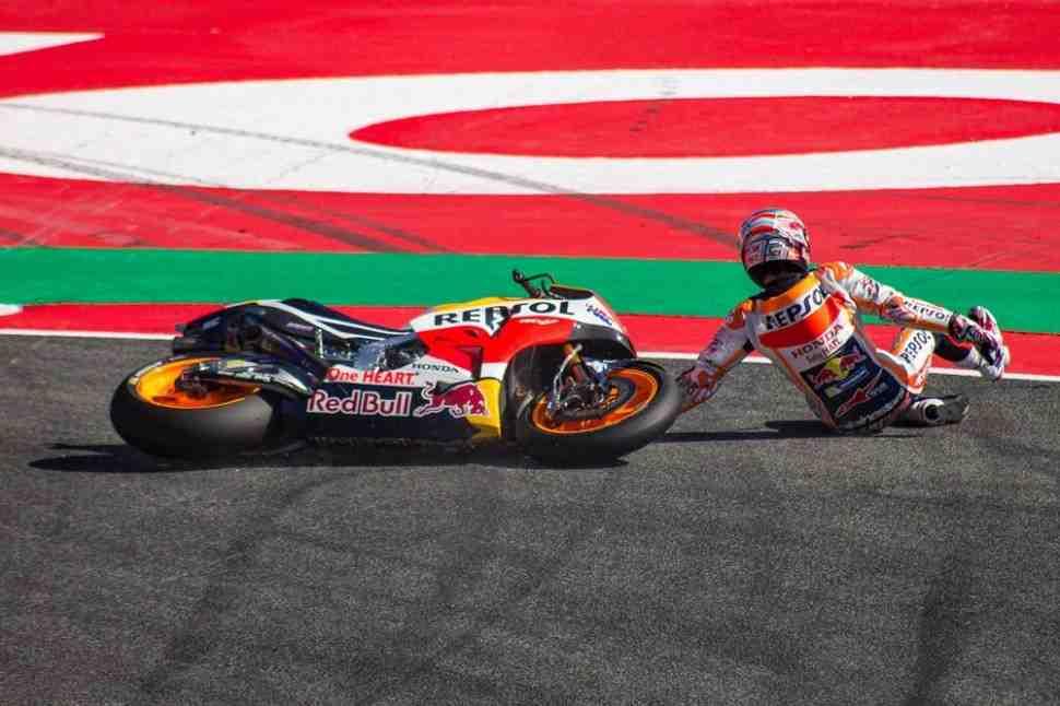 MotoGP CatalanGP FP3: Дови улучшил рекорд Лоренцо, Маркес не попал в Q2
