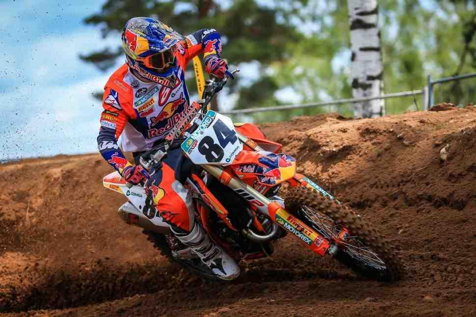 Мотокросс MXGP: Победа и травма - видео падения Херлингса на Гран-При Латвии