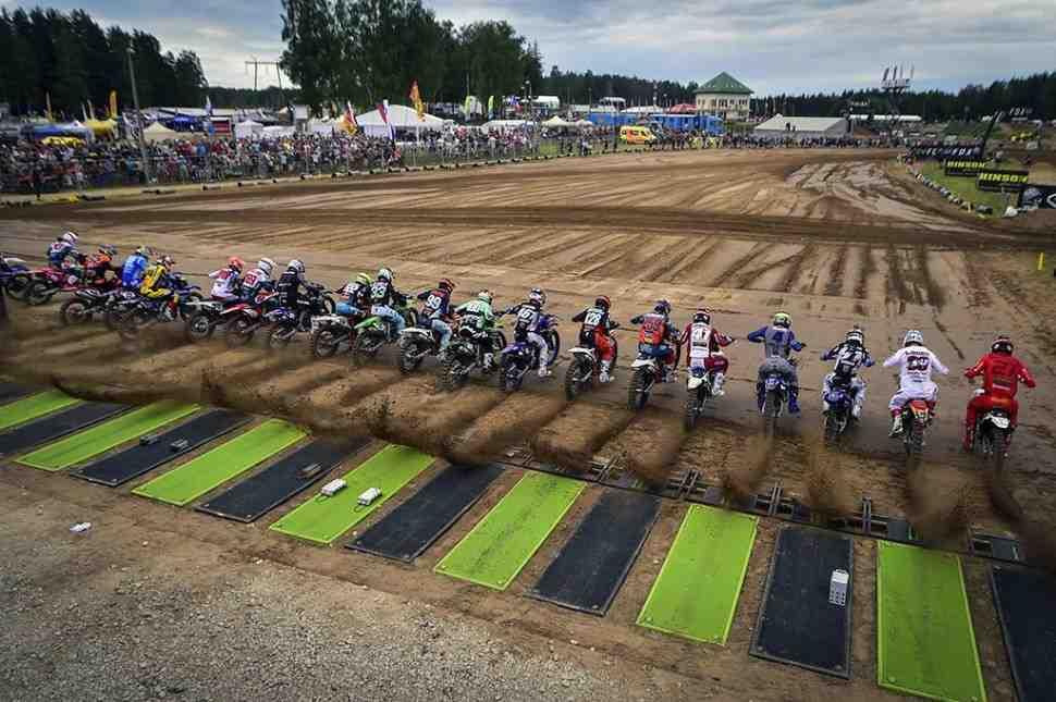 Мотокросс: видео и результаты Гран-При Латвии MXGP/MX2