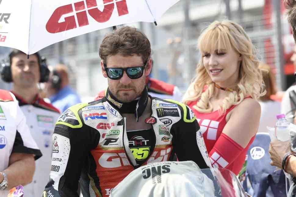 MotoGP: Кратчлоу перегрелся