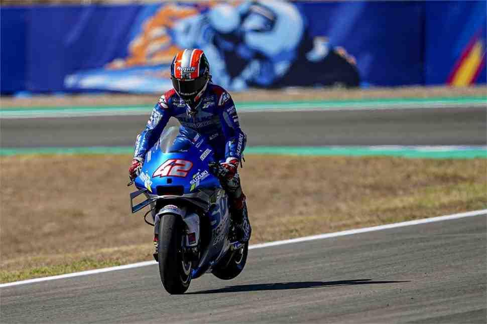 MotoGP: В Suzuki Ecstar готовы к SpanishGP - Алекс Ринс дал прогноз на борьбу за подиум