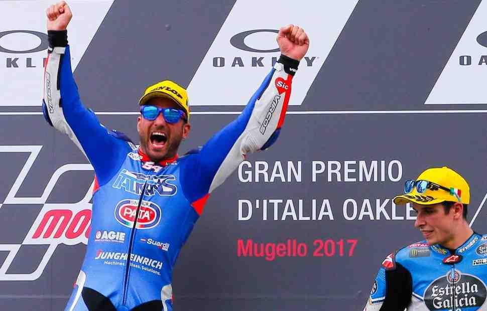 Маттиа Пасини вступит в заводскую команду MV Agusta Moto2