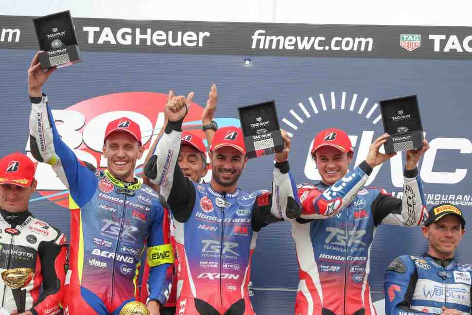 EWC: Драматичная развязка - F.C.C. TSR Honda выигрывает 24-часовой Bol d′Or