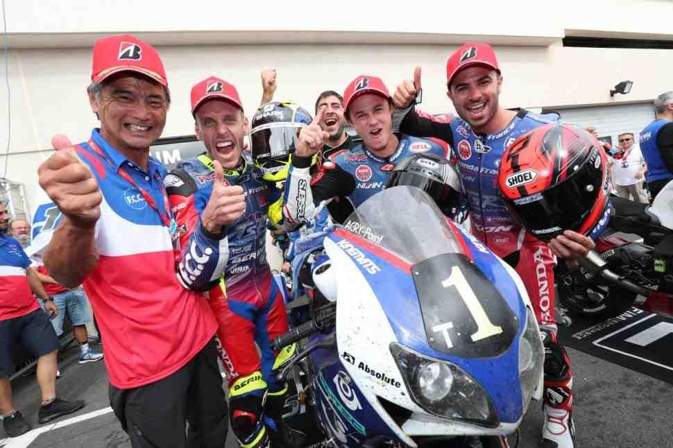 EWC - F.C.C. TSR Honda выигрывает Bol d′Or 2018: официальные результаты
