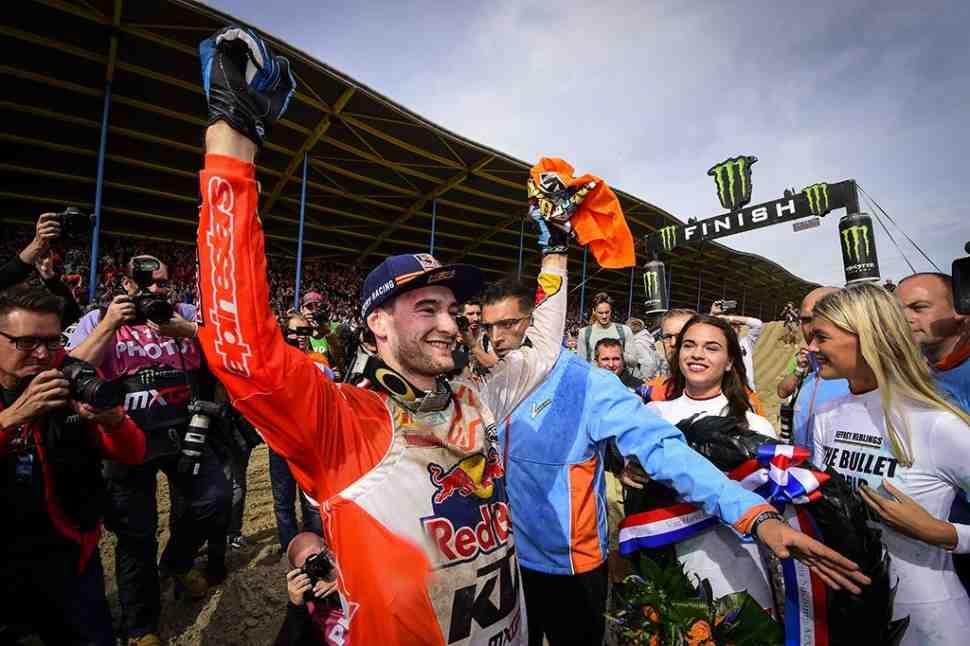 Мотокросс: Джеффри Херлингс - чемпион Мира MXGP 2018 - Ассен, 1-й заезд