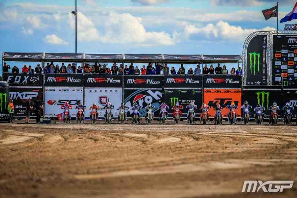 Мотокросс: видео Гран-При Нидерландов MXGP/MX2 - видео из Ассена