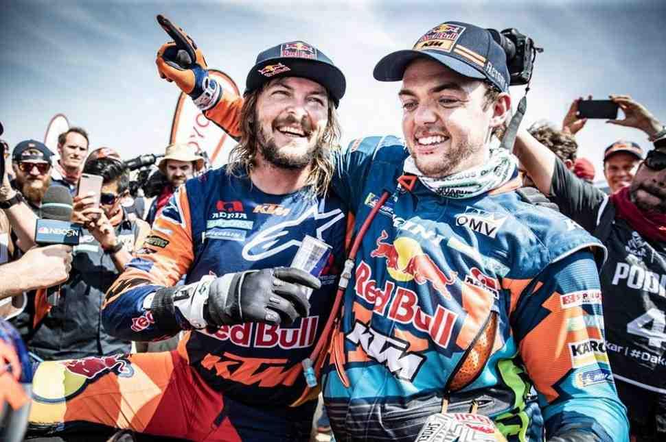 Дакар 2019 - KTM держит марку: Тоби Прайс стал двукратным чемпионом в категории МОТО