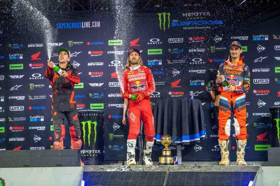Хорошее начало нового сезона AMA Supercross: комментарии KTM, Honda, Yamaha и GasGas