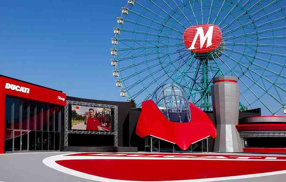 Тематический парк аттракционов Ducati World открывается в равеннском Mirabilandia