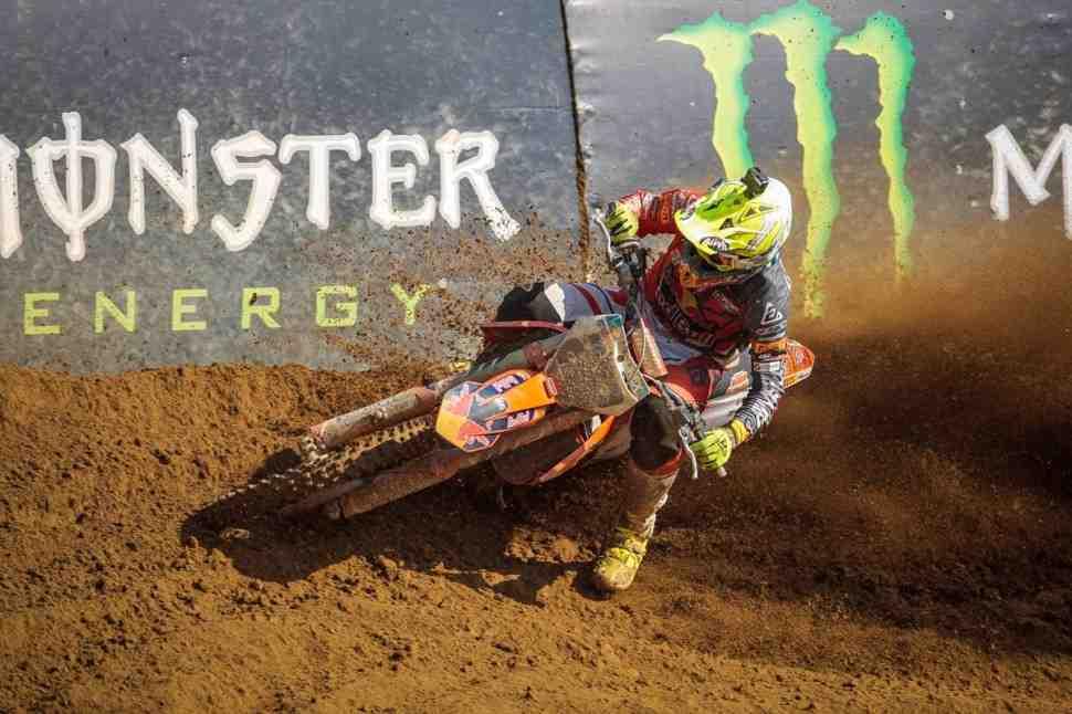 Мотокросс: результаты Гран-При Ломбардии MXGP/MX2 - день KTM