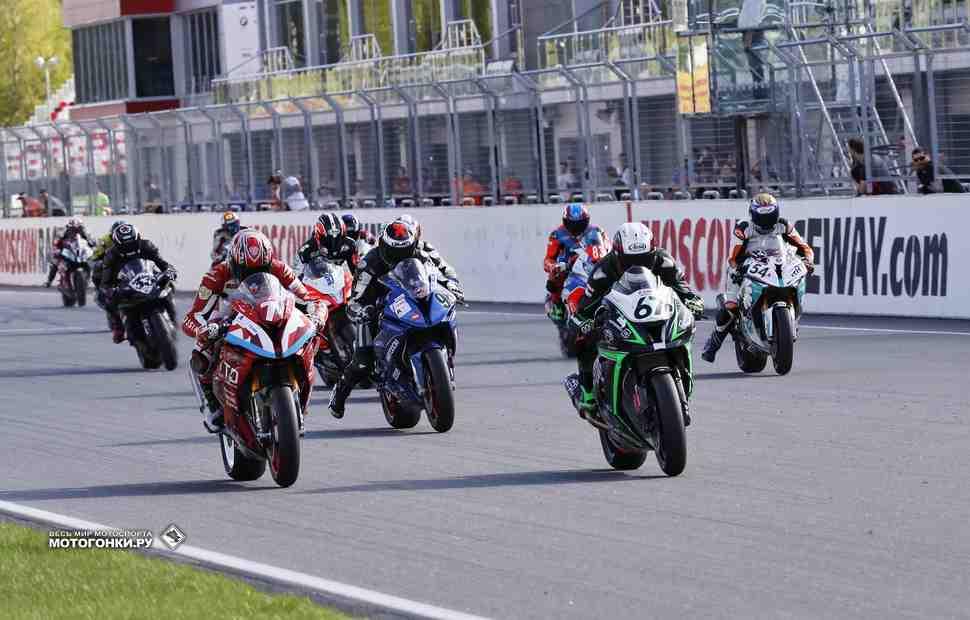 Расписание мотоциклетных трек-дней TrackRaceDays на Moscow Raceway 19-20 июня