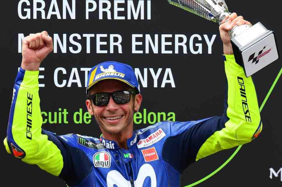 Валентино Росси оформил 195-й подиум в MotoGP: 90-ю победу ждать в Ассене?