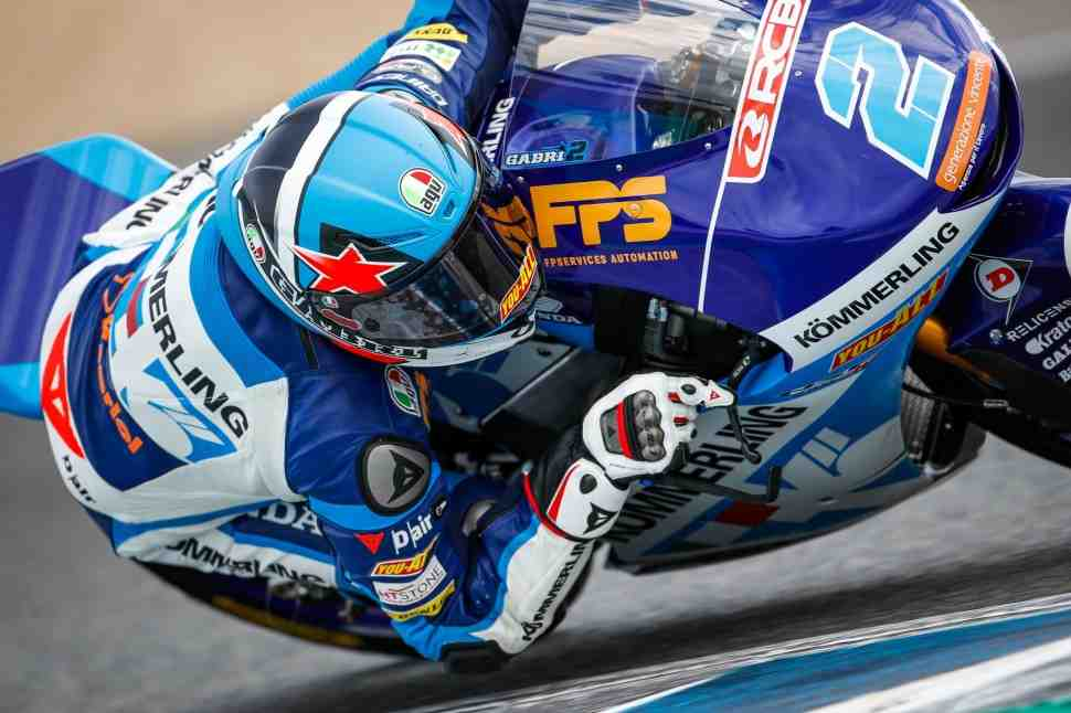 Габриэль Родриго обновил рекорд Circuito de Jerez для Moto3 на первой же практике SpanishGP