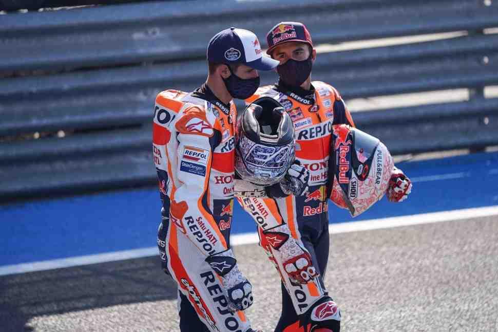 MotoGP - SpanishGP: Марк Маркес приветствует решение HRC о переходе Алекса в LCR Honda