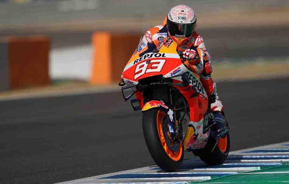 MotoGP: Марк Маркес возглавил первый протокол - результаты FP1 SpanishGP