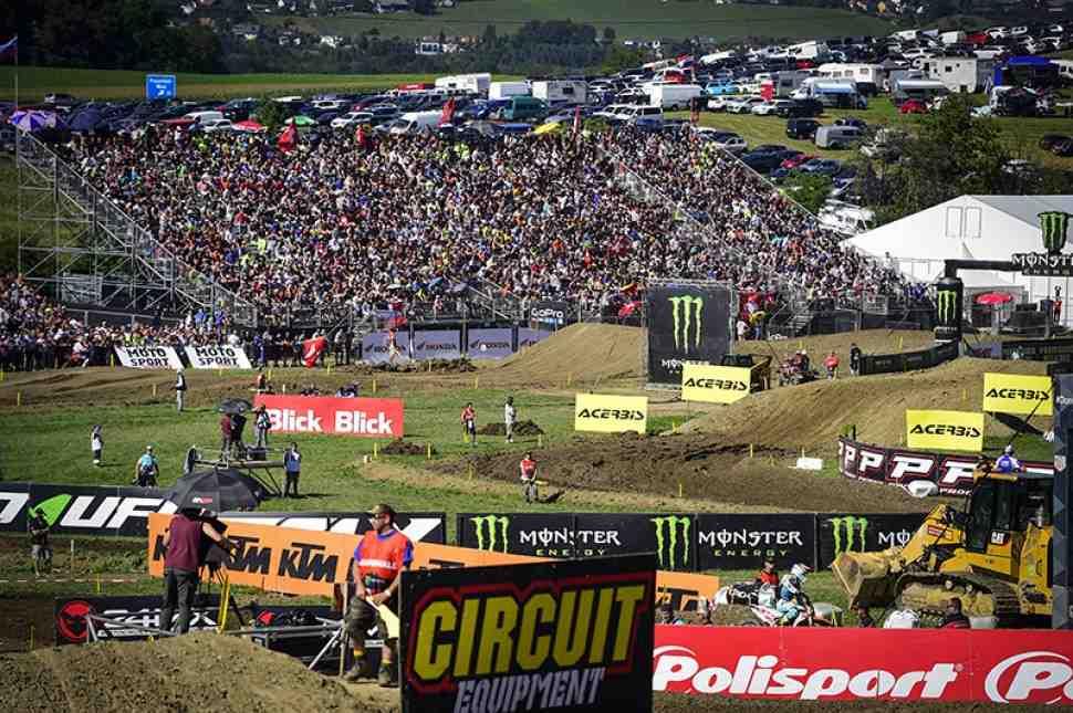 Мотокросс: Гран-При Швейцарии MXGP - онлайн хронометраж 16 этапа Чемпионата Мира