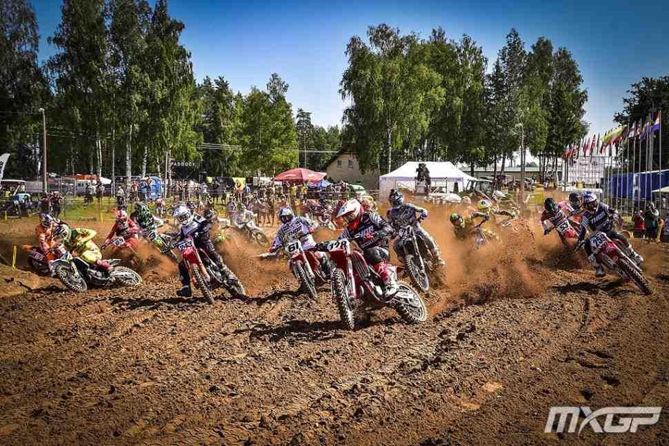 Мотокросс: результаты и видео Гран-При Кегумса MXGP/MX2