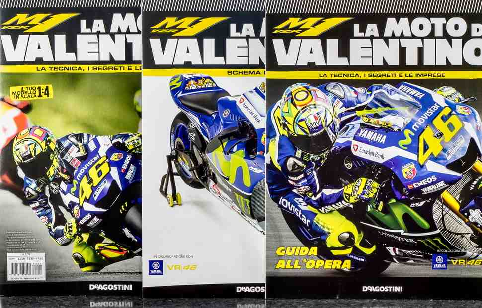 Для фанатов: deAgostini запустила новую серию сборных моделей мотоциклов из MotoGP 1:18