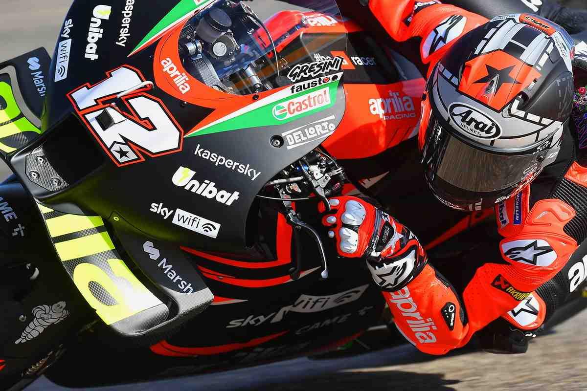 MotoGP: Внезапно - Маверик Виньялес на Aprilia возглавил FP1 Гран-При Сан-Марино