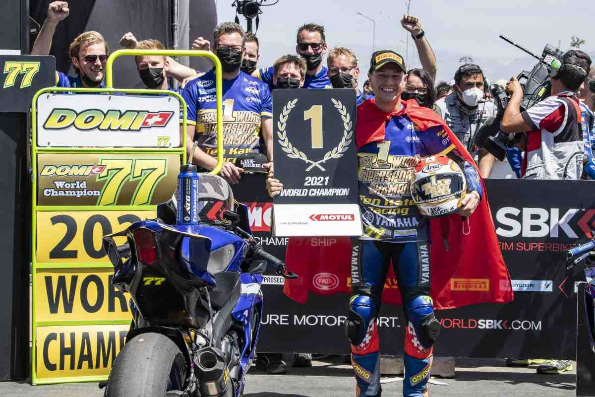 ������� ������� � Ten Kate Yamaha - �������� World Supersport 2021 ����