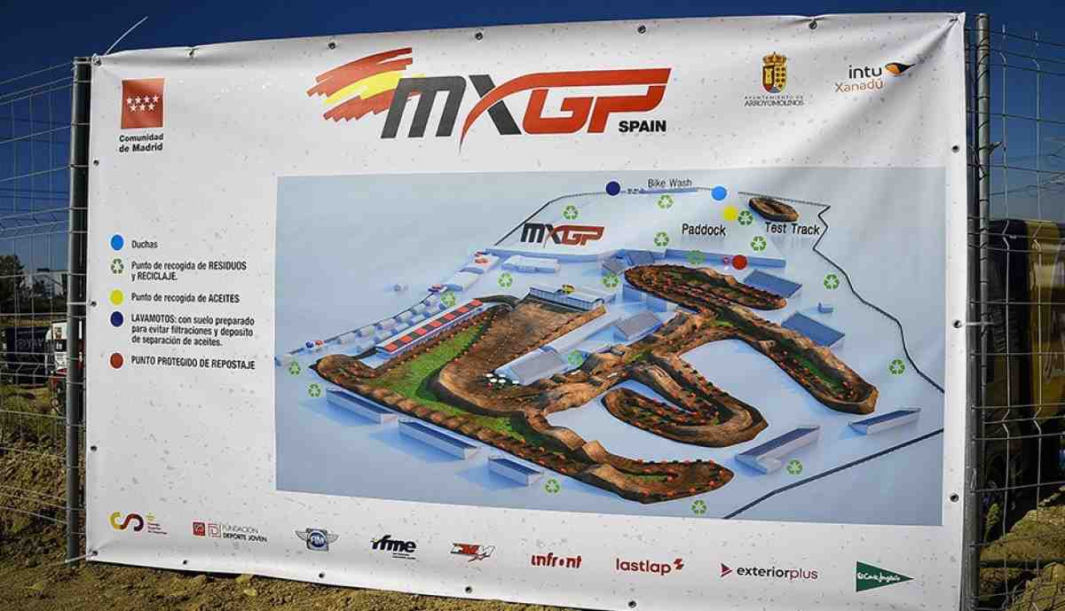 Мотокросс MXGP/MX2: расписание и онлайн хронометраж Гран-При Испании