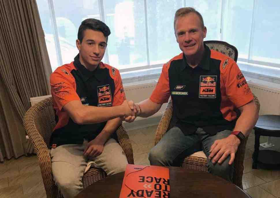 Мотокросс: KTM увидели новую звезду MX2 - Том Виаль присоединился к заводской команде