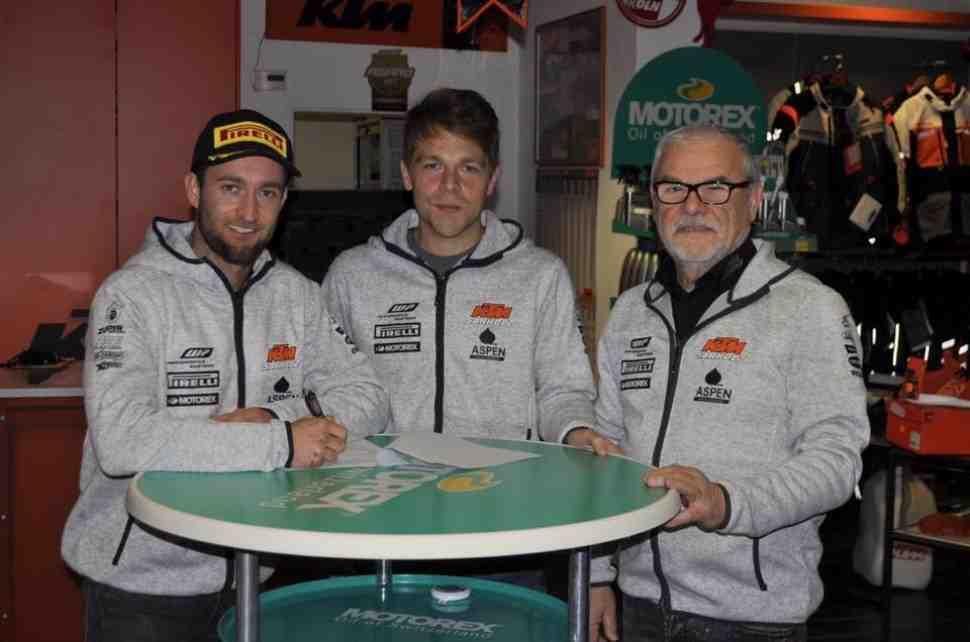 Мотокросс: Макс Нагл останется в MXGP - руку помощи протянула его первая команда Sarholtz KTM Racing