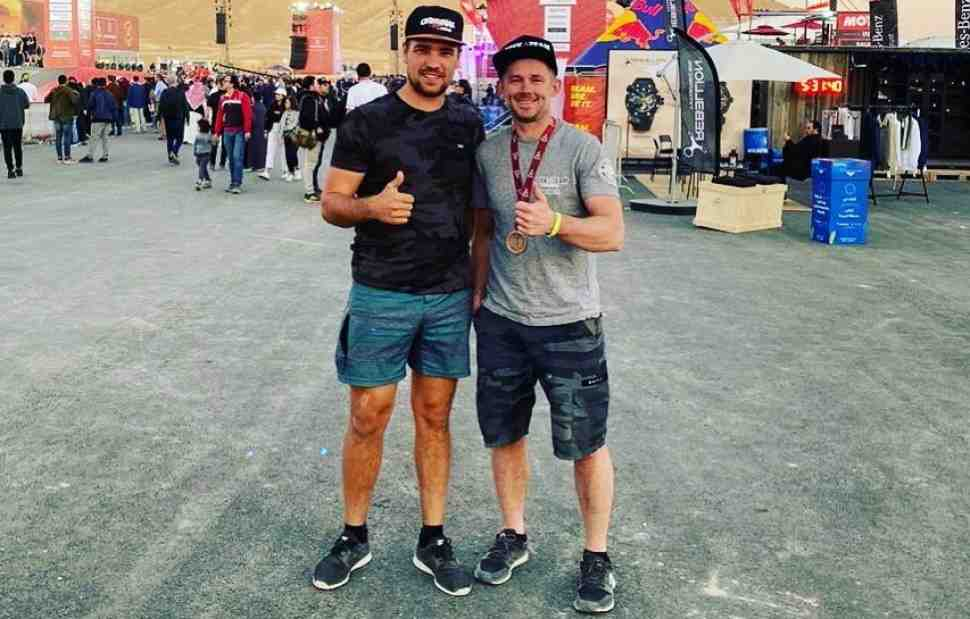 Дакар-2020: тольяттинский гонщик Дмитрий Агошков на финише ралли-марафона - видео