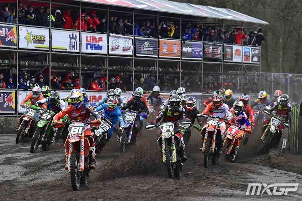 Мотокросс: видео квалификаций Гран-При Европы MXGP/MX2
