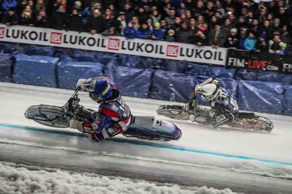 На ледовом фронте без перемен: Итоги первого дня FIM Ice Speedway Gladiators в Инцелле