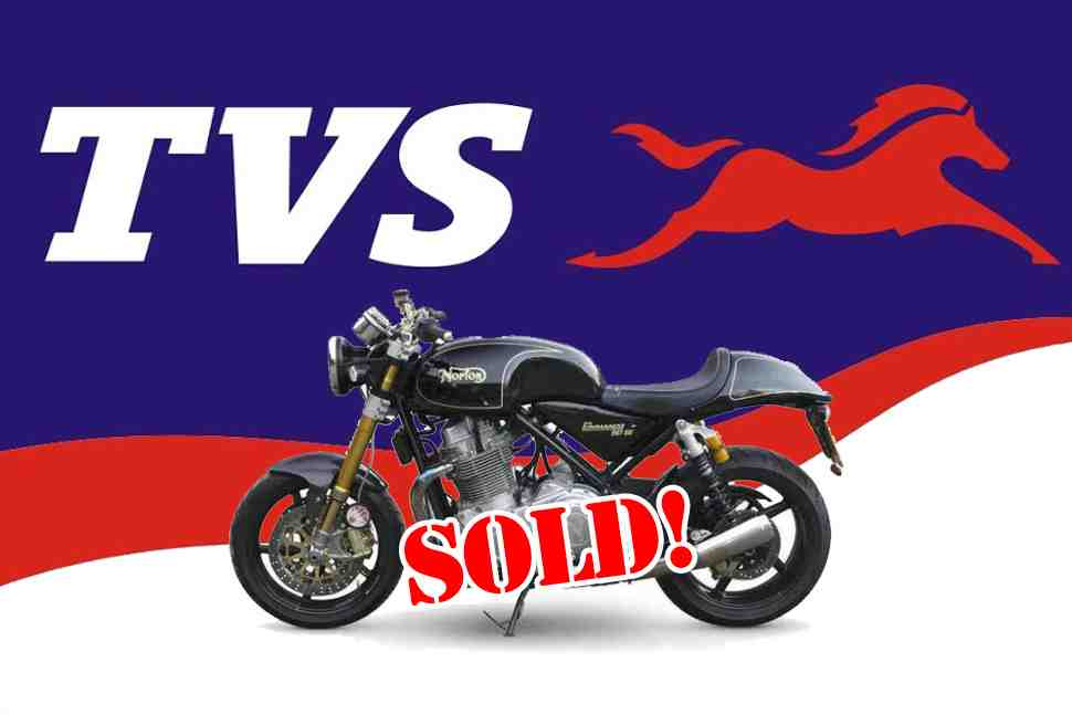 ��������� ���������� TVS ����������� ������������ Norton Motorcycles