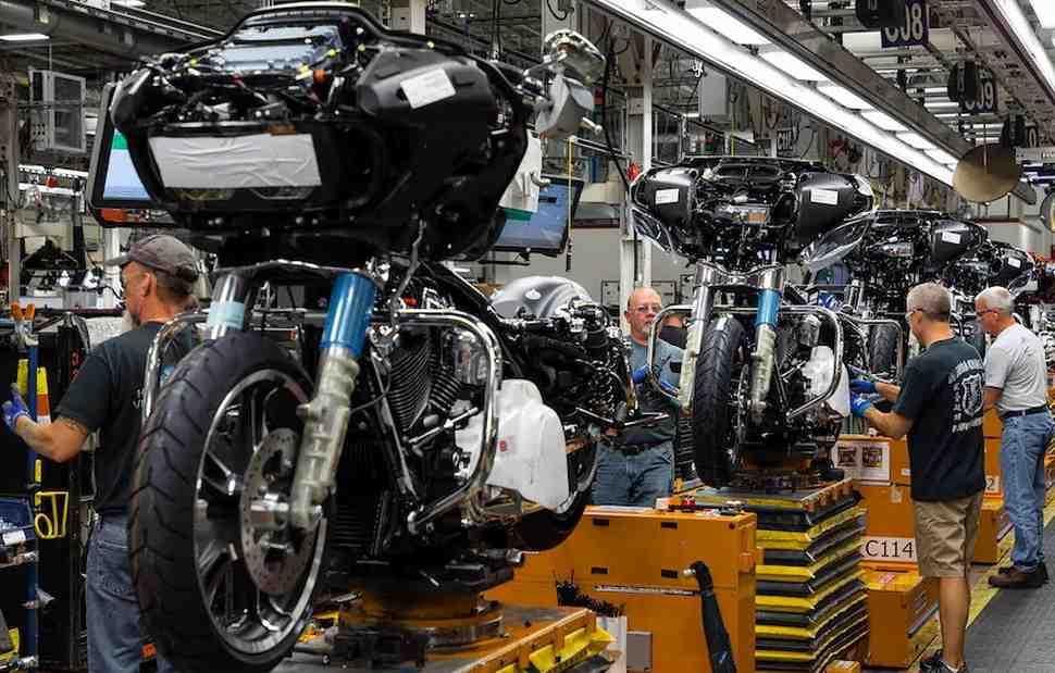 В США мотоциклетную отрасль приравняли к стратегически важной из-за коронавируса