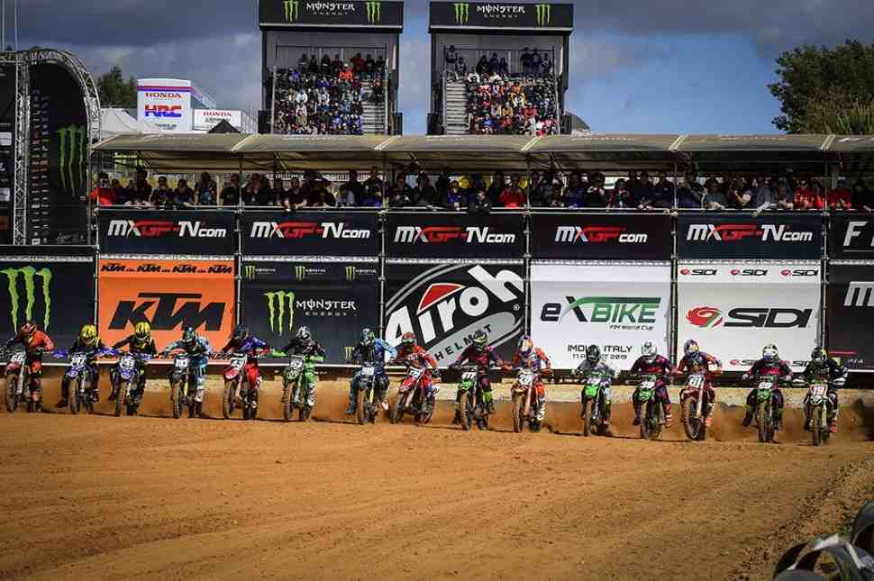 Мотокросс: видео квалификаций Гран-При Португалии MXGP/MX2