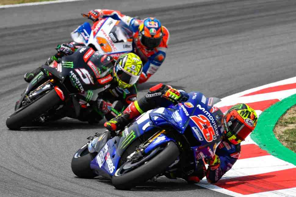 MotoGP: Виньялес разочарован Yamaha: Гран-При Каталонии - просто катастрофа
