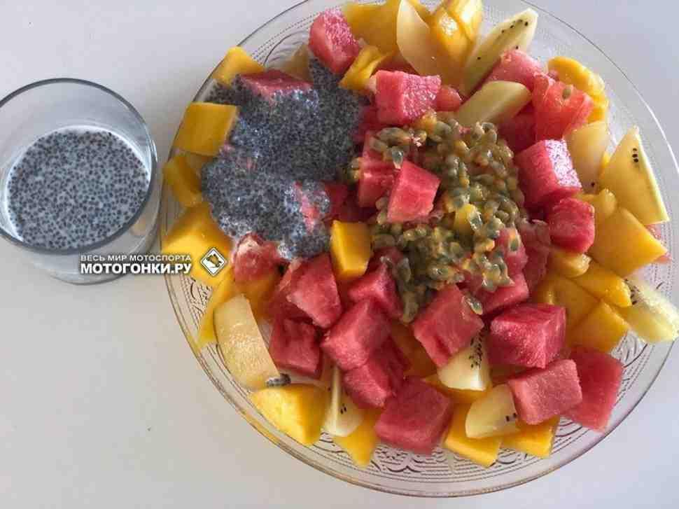 Мотогонки.Ру: Лето - время салатов, рецепт дня от Евгения Бобрышева