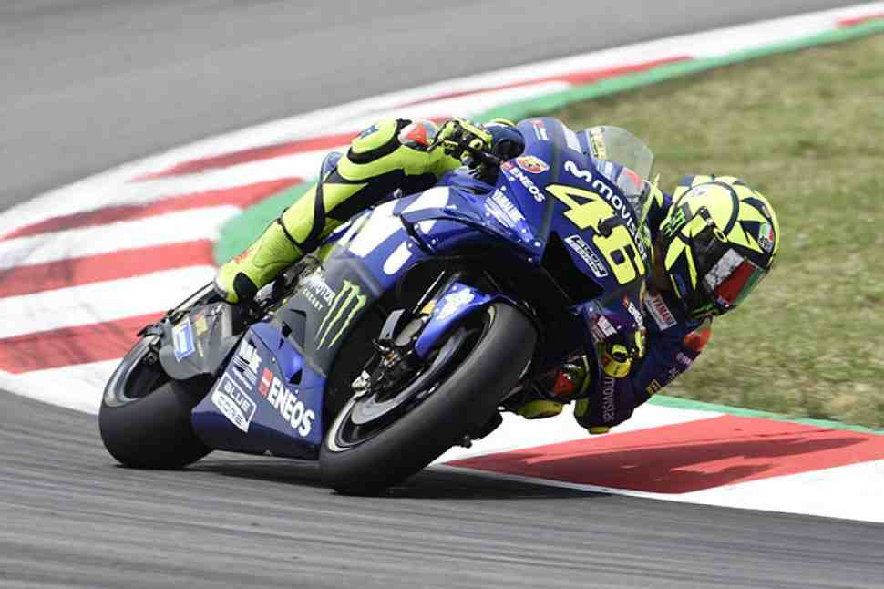 Росси не получил апгрейд от Yamaha для схватки за первую победу в сезоне MotoGP 2018