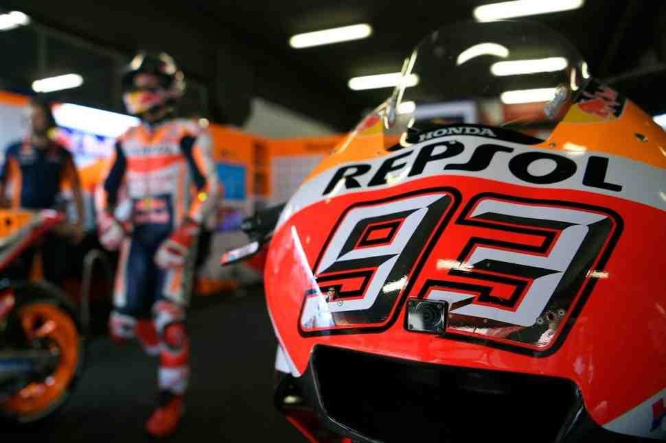 Тесты MotoGP в Монтмело: Маркес возглавил протокол