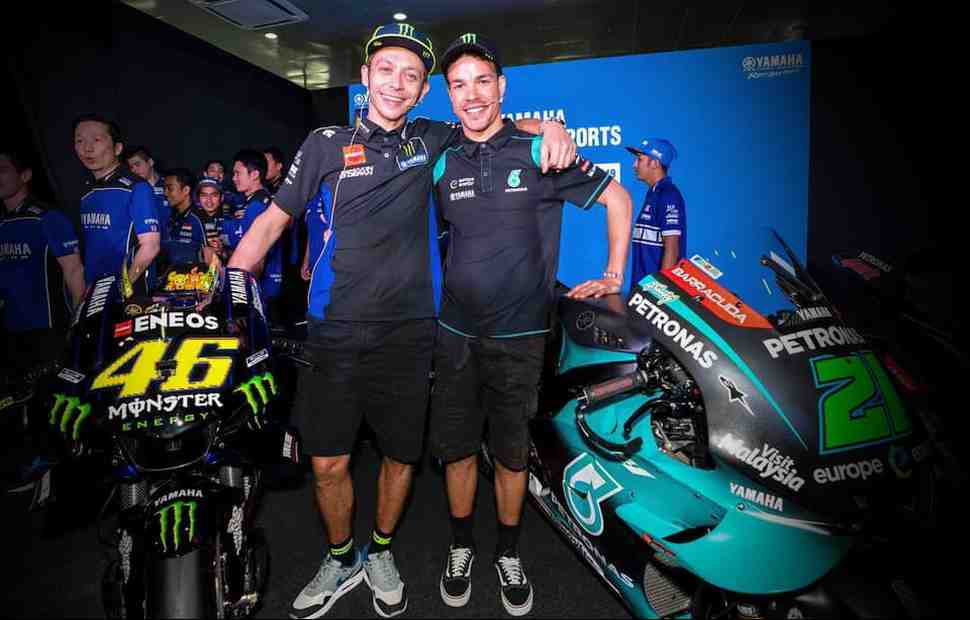 Близкий друг Валентино Росси подтвердил план выйти на старт MotoGP 2021 в паре с Морбиделли