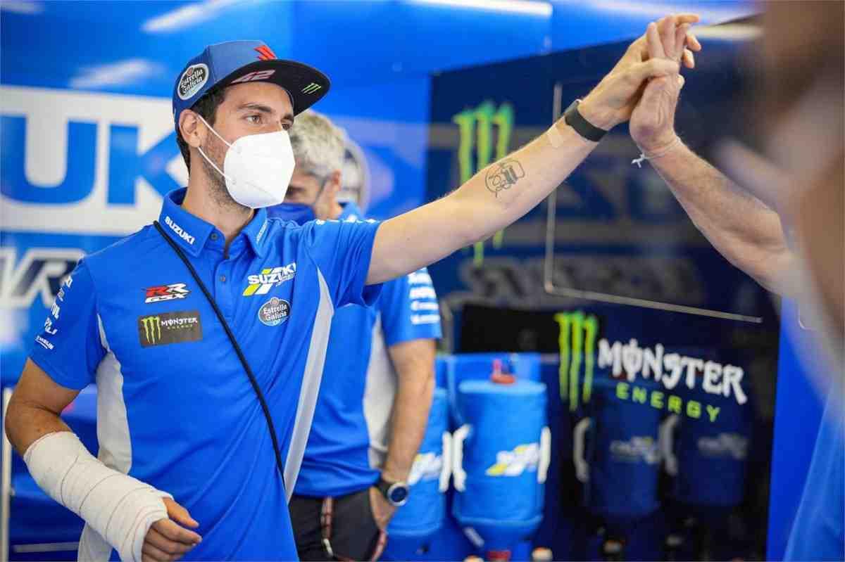 MotoGP: Алекс Ринс без труда прошел медицинский тест на Sachsenring