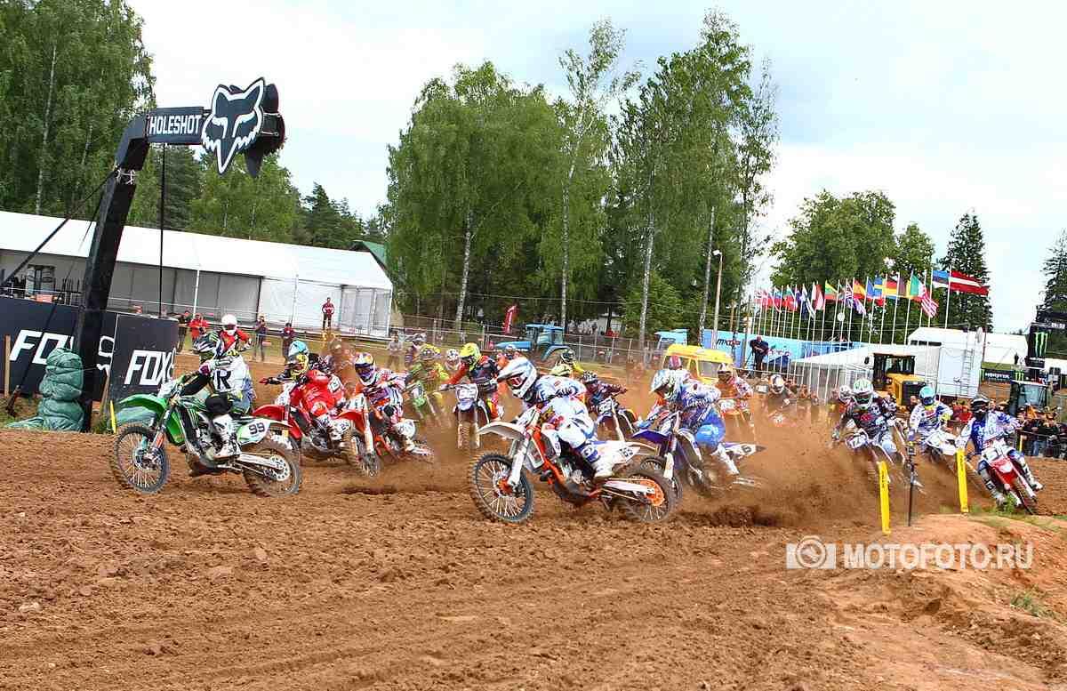 Мотокросс: Гран-При Латвии перенесен - обновленный календарь чемпионата Мира MXGP