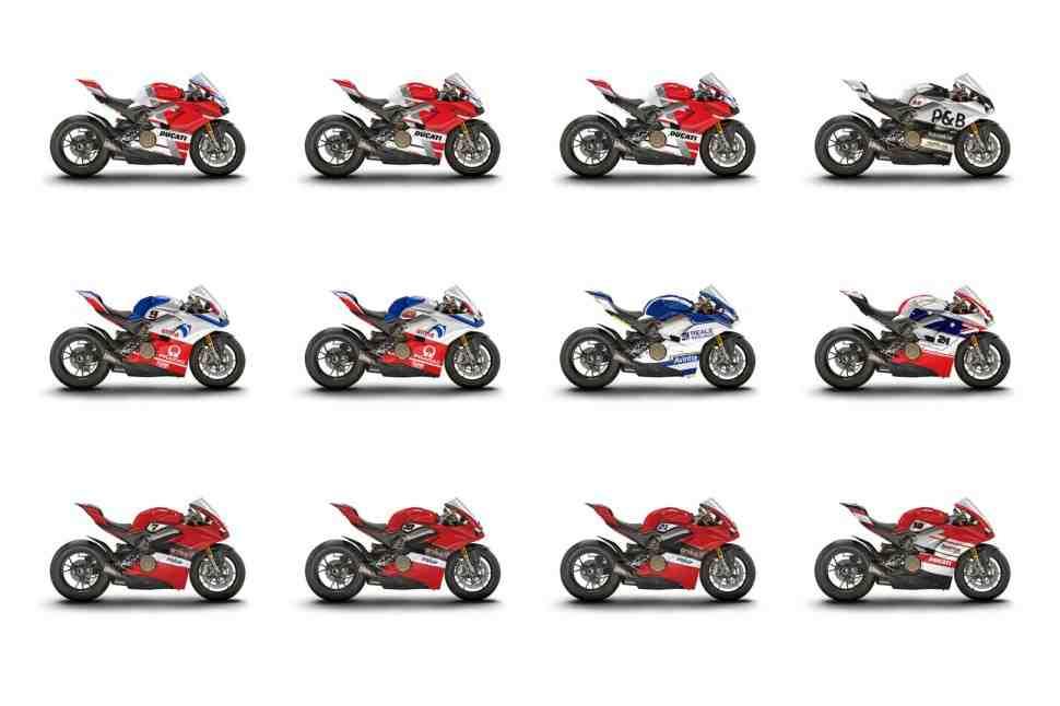 Ducati выставит 12 Panigale V4S на eBay после World Ducati Week 2018