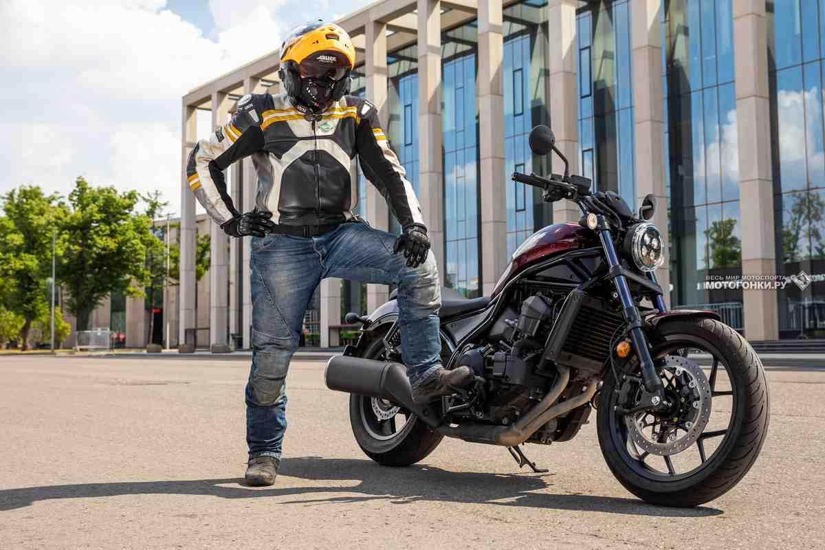 Тест-драйв: Honda Rebel 1100 DCT (2021) - Рожденный для удовольствия