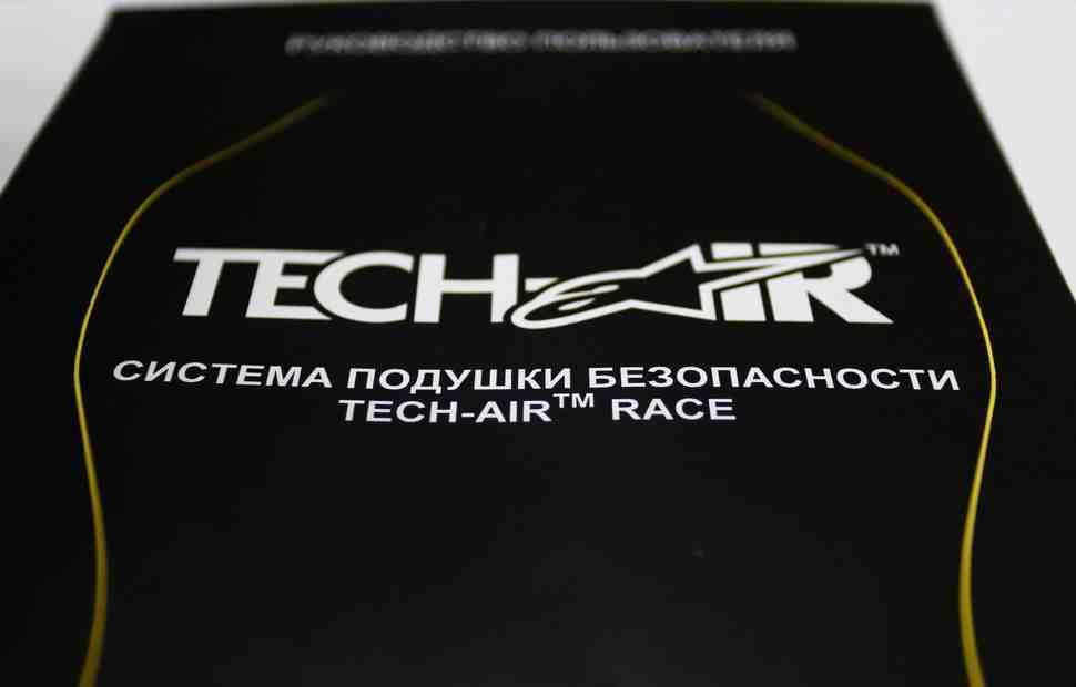 Мотоциклетные подушки безопасности для гонок и улиц Alpinestars Tech-Air - официально в России