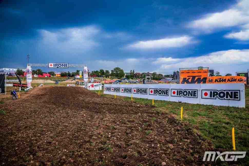 Мотокросс: круг по трассе Гран-При Швейцарии MXGP - видео