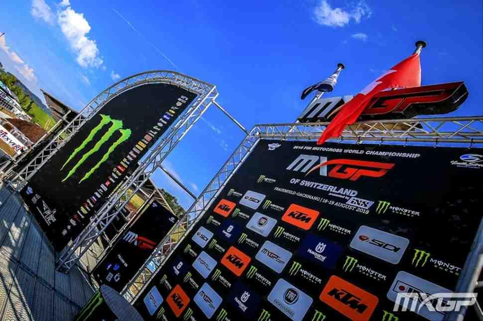 Мотокросс: квалификация Гран-При Швейцарии MXGP/MX2 - результаты