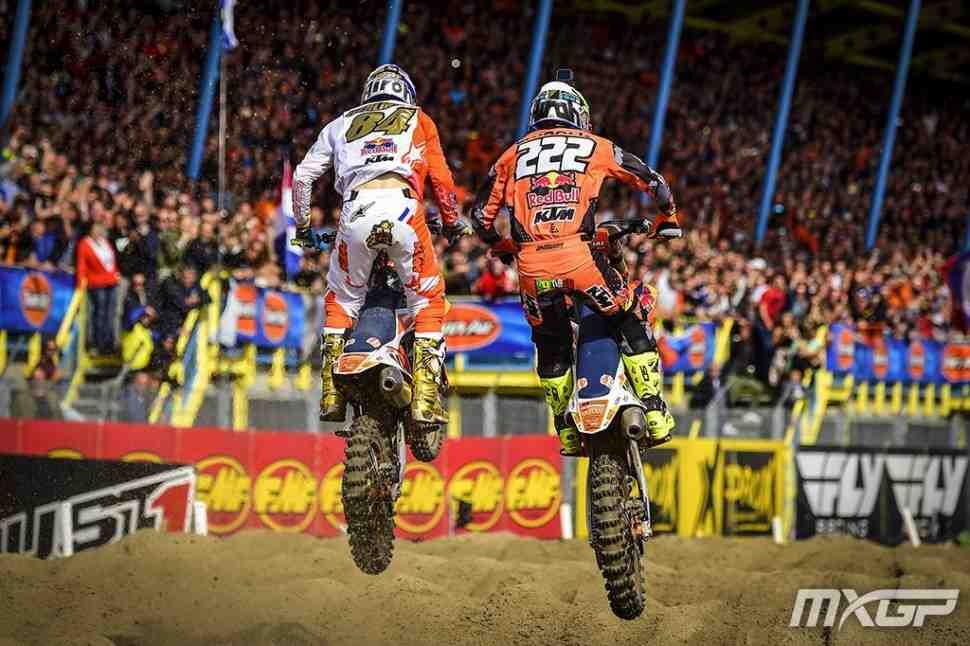Мотокросс: видео Гран-При Нидерландов MXGP - лучшие моменты Ассена