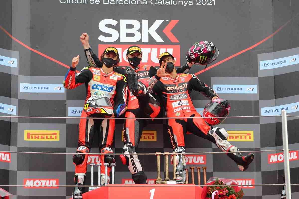 ������������ ������� ������ Ducati � BarcelonaWorldSBK: ����� ������� ������� ����