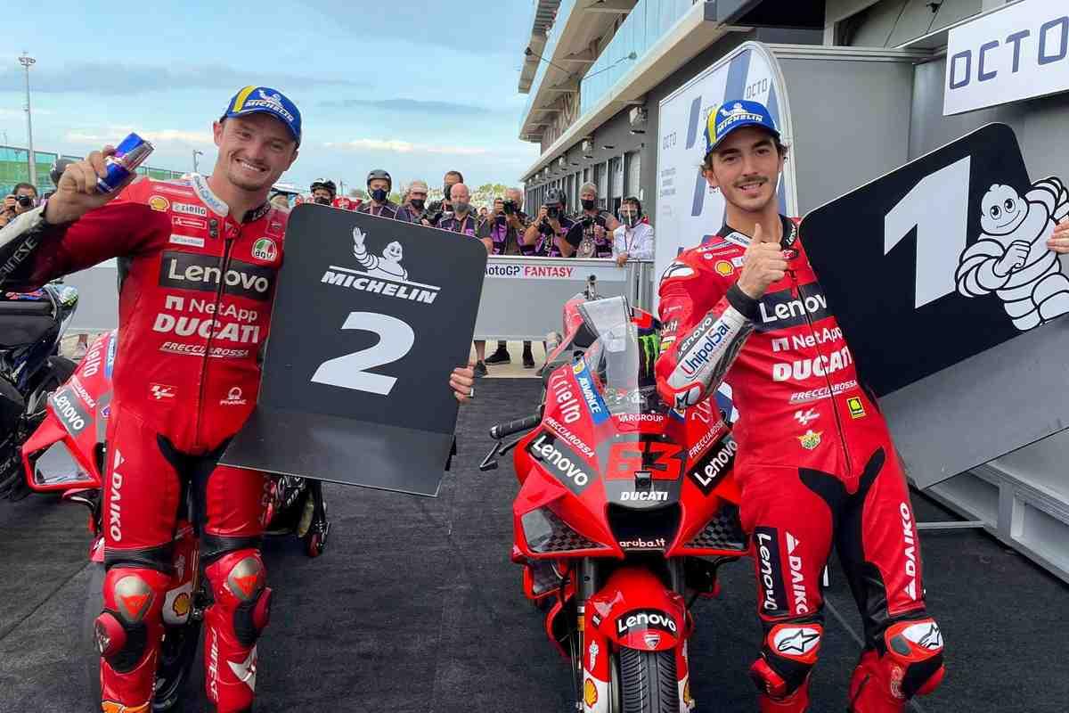 Квалификация Гран-При Сан-Марино MotoGP: Тотальное превосходство Ducati!